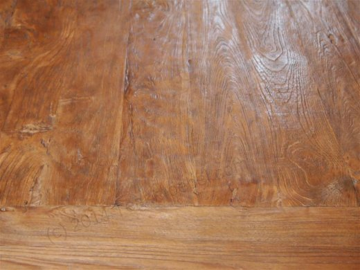 Teakholz Klostertisch 200x100cm - Bild 12