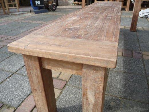 Teak Tisch aus altem Holz 220 x 100 cm - Bild 10