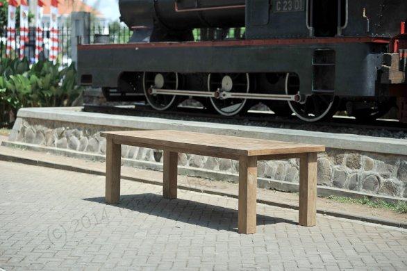 Teak Tisch München 350x100cm - Bild 12