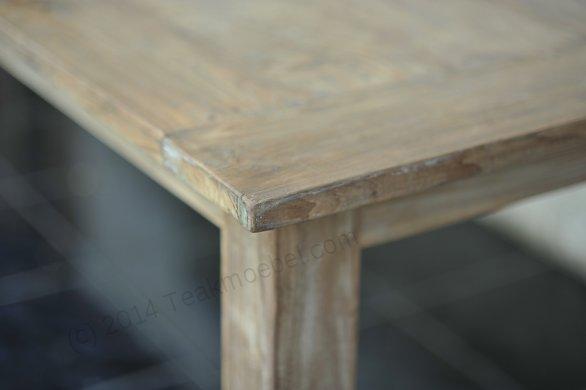 Teak Tisch altes Holz 300 x 100 cm - Bild 19
