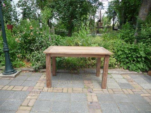 Teak Tisch aus altem Holz 140 x 90 cm - Bild 11
