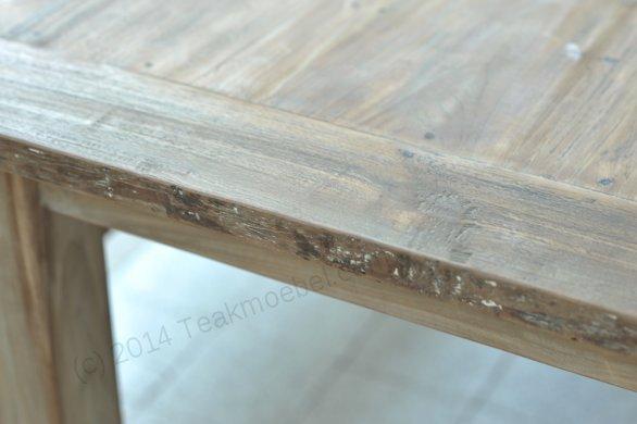 Teak Tisch aus altem Holz 200 x 100 cm - Bild 6