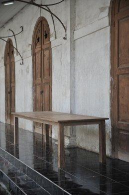 Teak Tisch altes Holz 300 x 100 cm - Bild 15