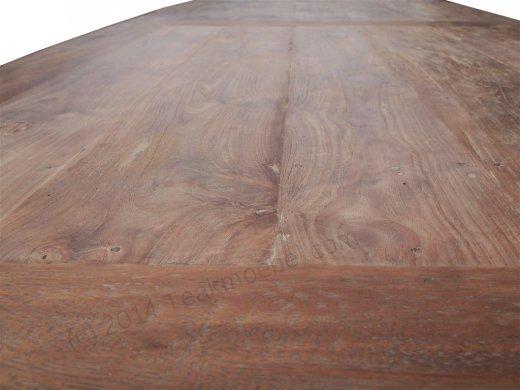 Teak Tisch altes Holz 320 x 120 cm - Bild 10