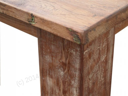 Teak Tisch altes Holz 320 x 120 cm - Bild 8