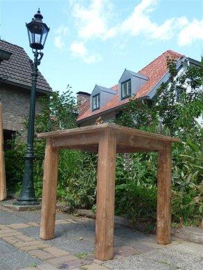 Teak Tisch altes Holz 80 x 80 cm - Bild 12