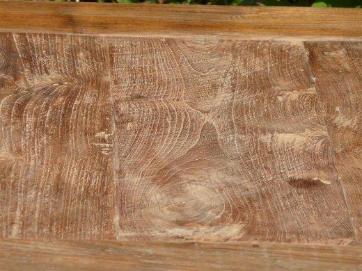 Teak Tisch altes Holz 80 x 80 cm - Bild 4