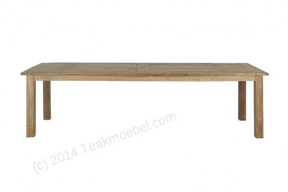 Teak Tisch altes Holz 300 x 100 cm - Bild 17