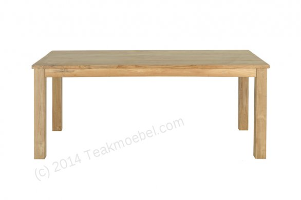Teak Tisch 200 x 100 cm - Bild 2
