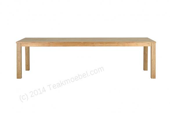 Teak Tisch 300 x 100 cm - Bild 5