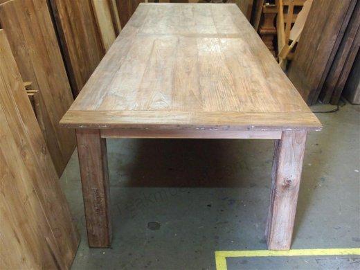 Teak Tisch altes Holz 350 x 120 cm - Bild 0