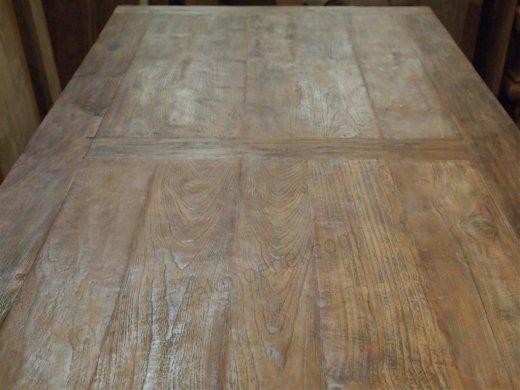 Teak Tisch altes Holz 350 x 120 cm - Bild 1