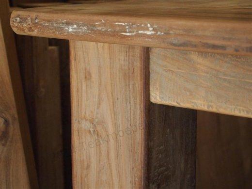 Teak Tisch altes Holz 350 x 120 cm - Bild 2