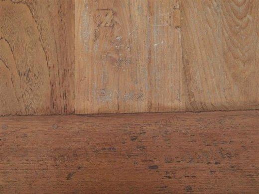 Teak Tisch altes Holz 450 x 120 cm - Bild 3