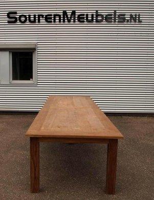 Teak Tisch altes Holz 450 x 120 cm - Bild 6