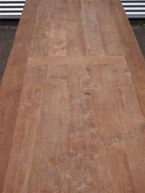 Teak Tisch altes Holz 450 x 120 cm - Bild 10