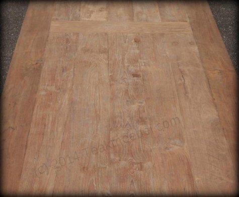 Teak Tisch altes Holz 450 x 120 cm - Bild 2