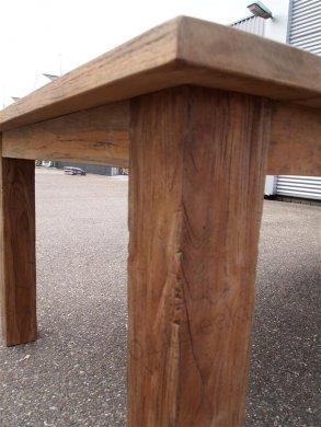 Teak Tisch altes Holz 450 x 120 cm - Bild 8
