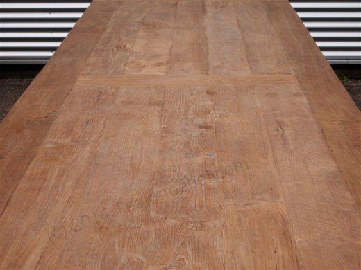 Teak Tisch altes Holz 450 x 120 cm - Bild 5