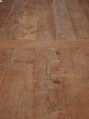 Teak Tisch altes Holz 450 x 120 cm - Bild 9