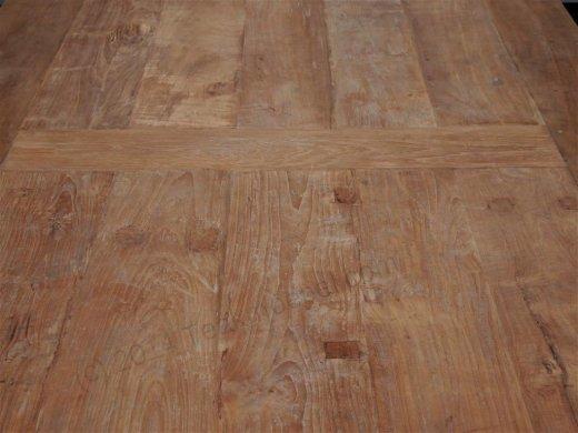 Teak Tisch altes Holz 450 x 120 cm - Bild 1