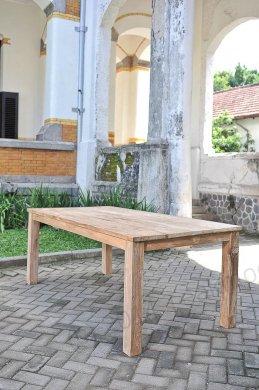 Teak Tisch 200 x 100 cm - Bild 14