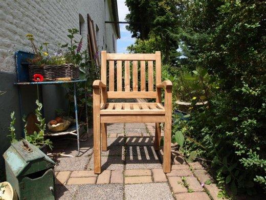 Teak Gartenstuhl Beaufort - Bild 11