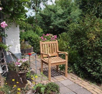 Teak Gartenstuhl Beaufort - Bild 10