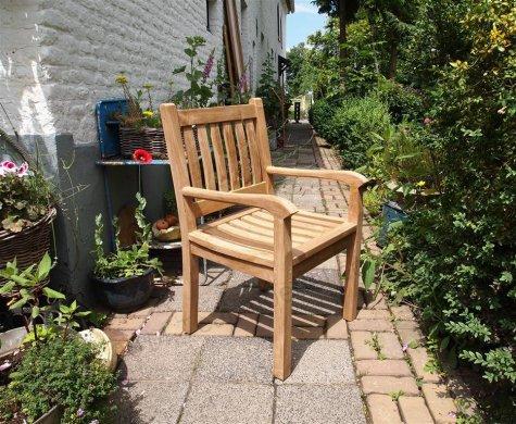 Teak Gartenstuhl Beaufort - Bild 4