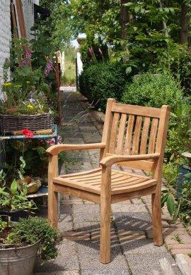 Teak Gartenstuhl Beaufort - Bild 2