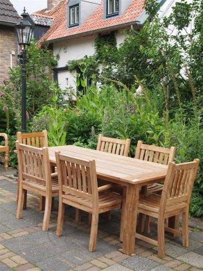 Teak Gartenstuhl Beaufort - Bild 6