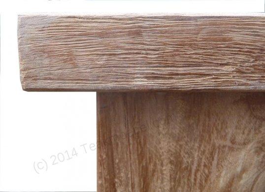 Teak Gartentisch 300 x 100 cm - Bild 9