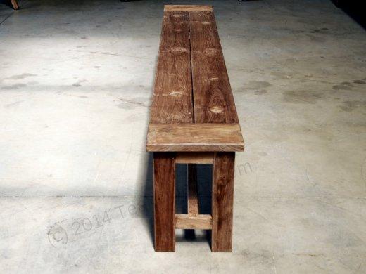 teak gartenbank ohne lehne 300cm. Black Bedroom Furniture Sets. Home Design Ideas