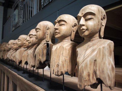 Teakholz Buddha - Bild 4