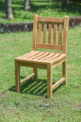 Teak Gartenstuhl ohne Armlehne Beaufort - Bild 3