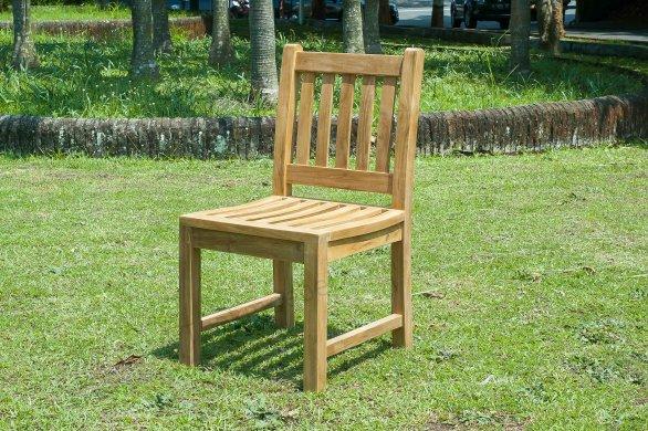 Teak Gartenstuhl ohne Armlehne Beaufort - Bild 0