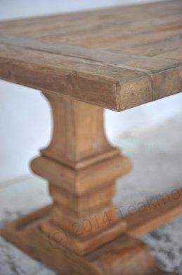 Teak Klostertisch 300x100cm + 8 Stühle - Bild 3