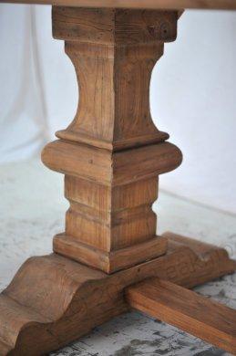 Teak Klostertisch 300x100cm + 8 Stühle - Bild 4