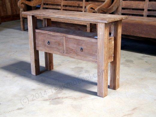 Dingklik Set: Tisch 300x100cm + 10 Stühle + Sidetable + Sideboard - Bild 3