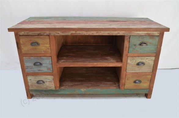 Sideboard Fernsehmöbel teak fernsehmöbel paint 130x53x70 teakmoebel com