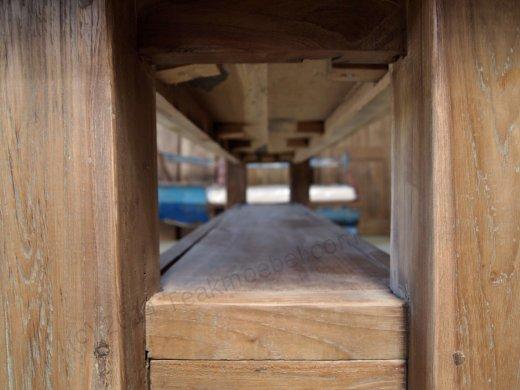 Teak Sidetable Dingklik 150cm - Bild 7
