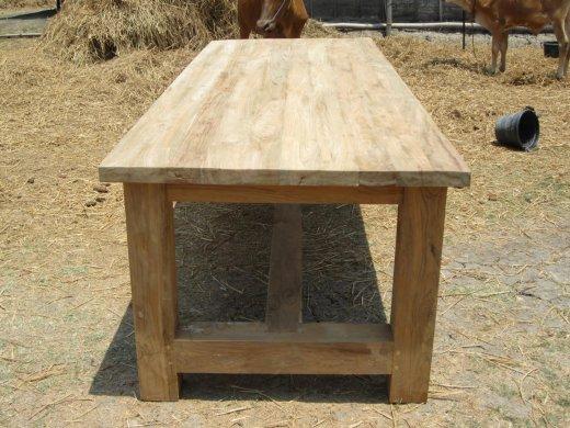 Teak Tisch Mammut Indoor 220 - Bild 2