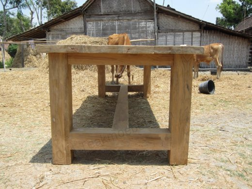 Teak Tisch Mammut Indoor 220 - Bild 3