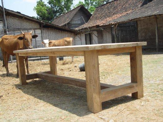 Teak Tisch Mammut Indoor 220 - Bild 1