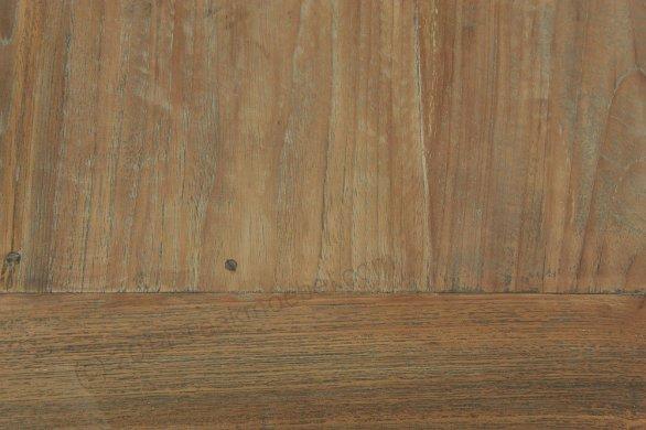 Teak Tisch Dingklik 300x100cm + 10 Stühle - Bild 4