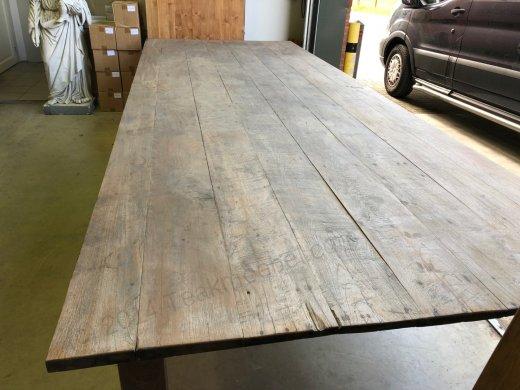Teak Tisch Antik 400x150cm - Bild 3