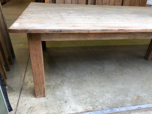 Teak Tisch Antik 400x150cm - Bild 5