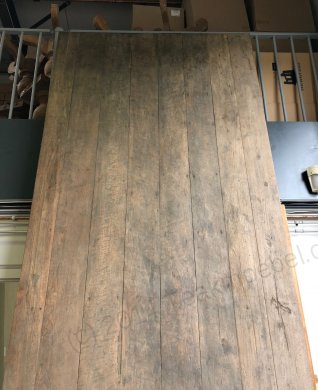 Teak Tisch Antik 400x150cm - Bild 7
