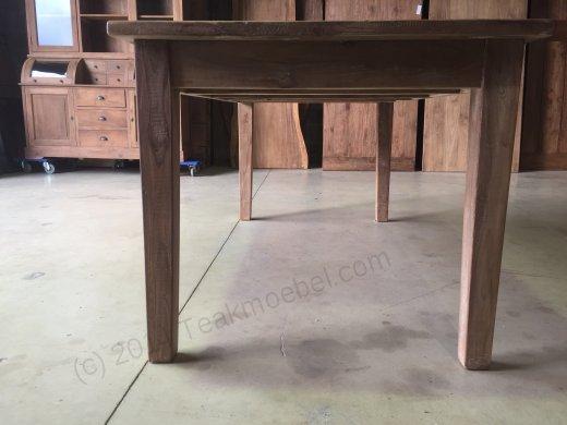 Teak Esstisch mit Schubladen 180x90 - Bild 4