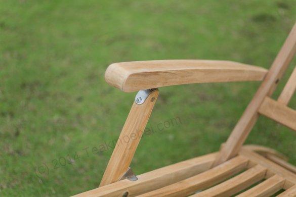 Teak Deckchair - Bild 5